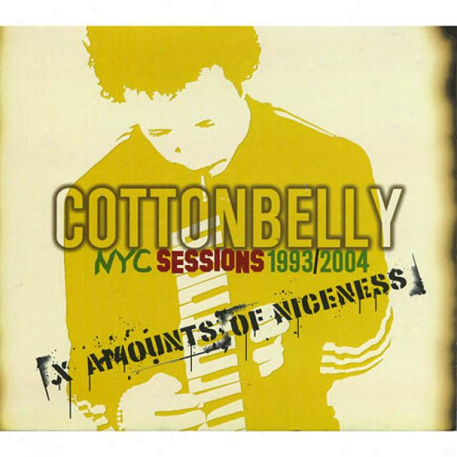 Nyc Sessions 1993/2004: X Amounts Of iNceness (digi-pak)