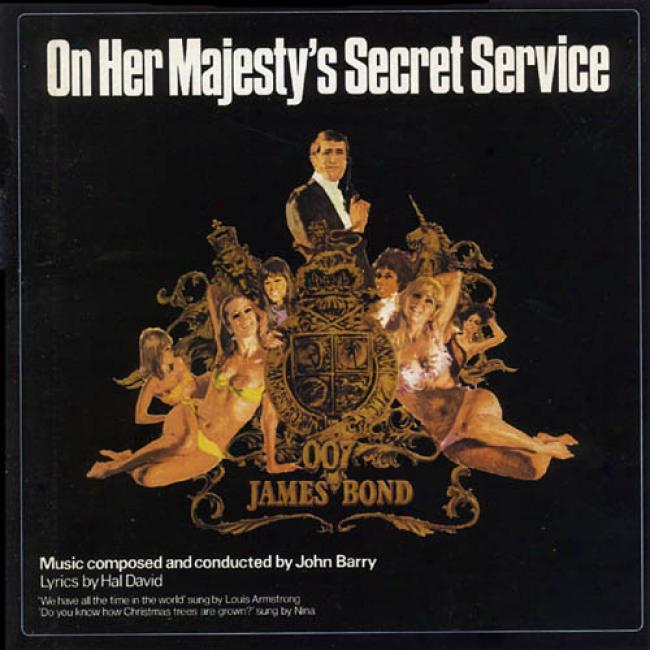 Attached Her Majesty's Secret Service Soundtrack (remaster)