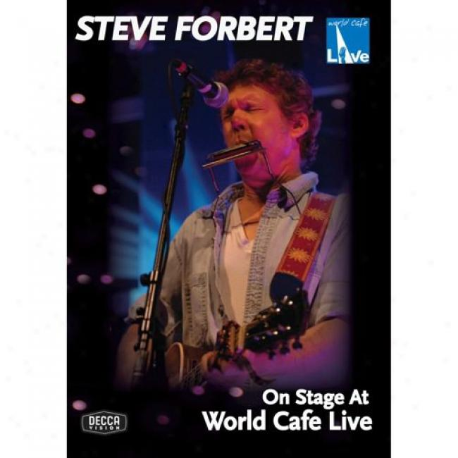 On Stage At World Cafe Live (music Dvd) (maray Case)