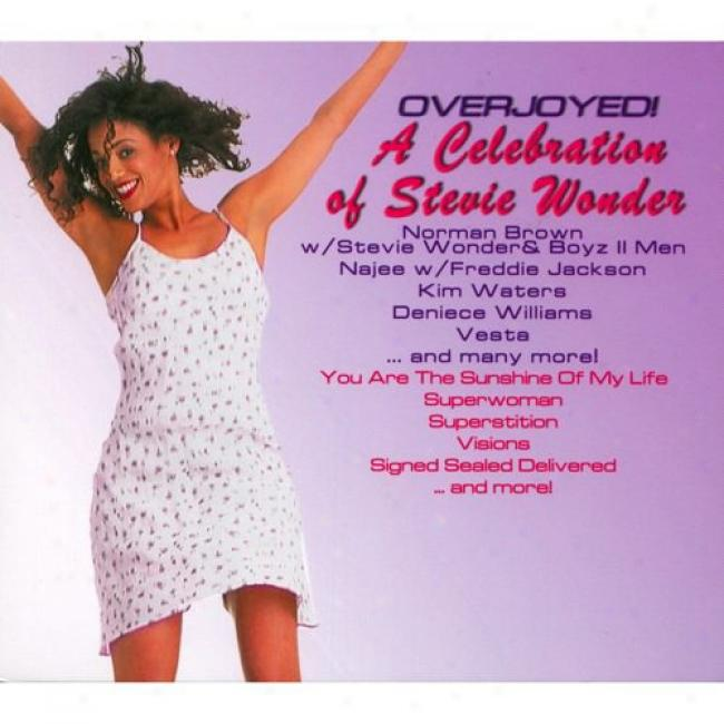 Overjoyed!: A Ceelebration Of Stevie Wonder (digi-pak)