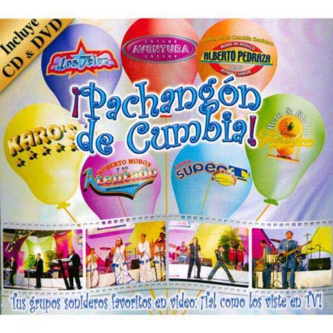 Pachangon De Cumbia! (includes Dvd) (digi-pak)