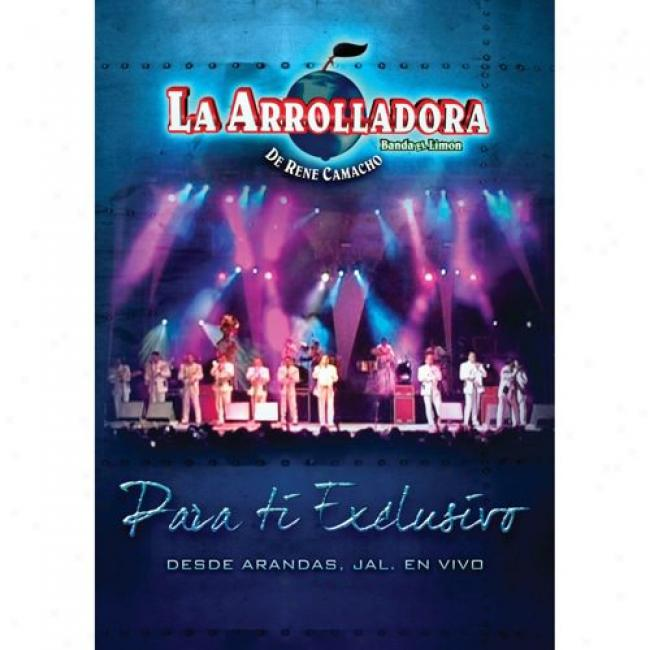 Para Ti Exclusivo: Desde Arandas, Jal. En Vivo (musicc Dvd) (amaray Case)