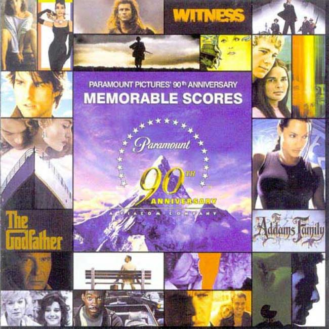 Paramount Pictures' 90th Anniversary Memorable Scores Soundtrack (2cd)