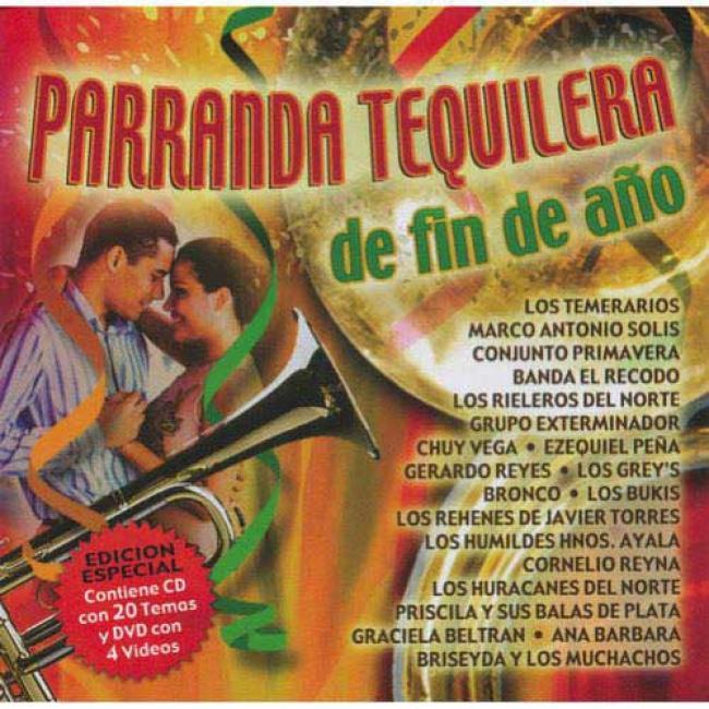 Parranda Tequilera D3 Fin De Ano (special Edition) (includes Dvd)