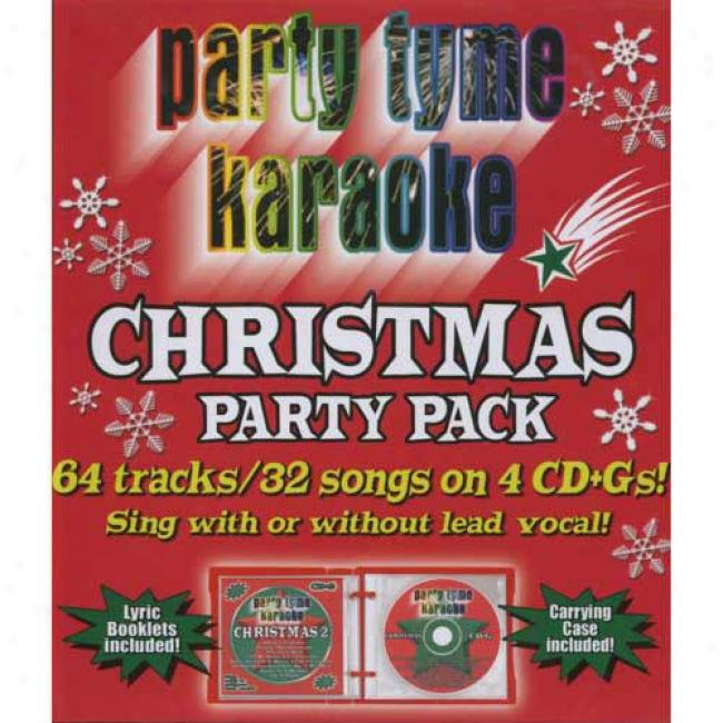 Party Tyme Karaoke: Christmas Party Pack (4 Disc Box Regular)