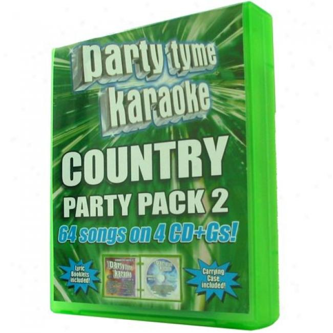 Party Tyme Karaoke: Rude Party Pack 2 (4 Disc Box Set)