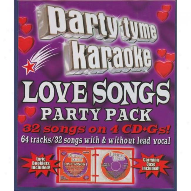 PartyT yme Karaoke: Love Songs Party Pack (4 Disc Box Set)