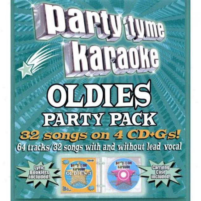 Party Tyme Karaoke: Oldies Party Pack 2 (4 Disc Box Set)