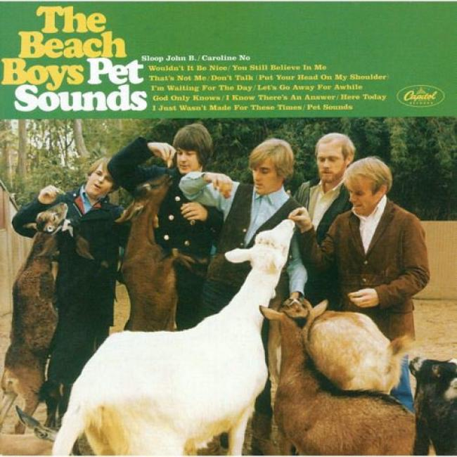 Pet Sounds (40th Day of annual celebration Limited Edition) (includes Dvd) (remaster)