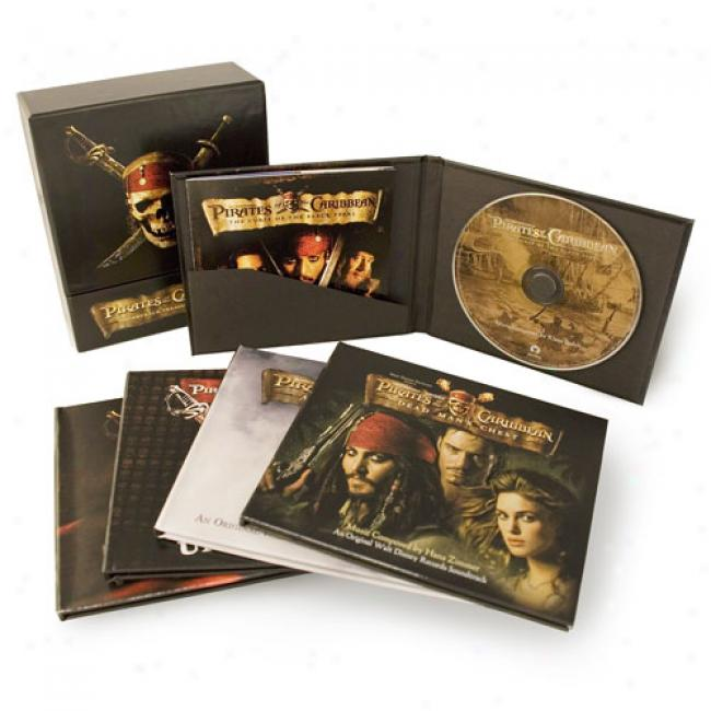 Pirates Of The Caribbean: Soundtrack Treasures Collection(4 Disc Box Set) (includes Dvd)
