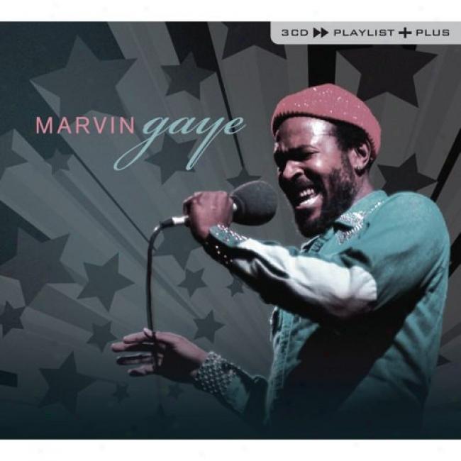 Playlist Plus: Marvin Gaye (3cd) (cd Slipcase)
