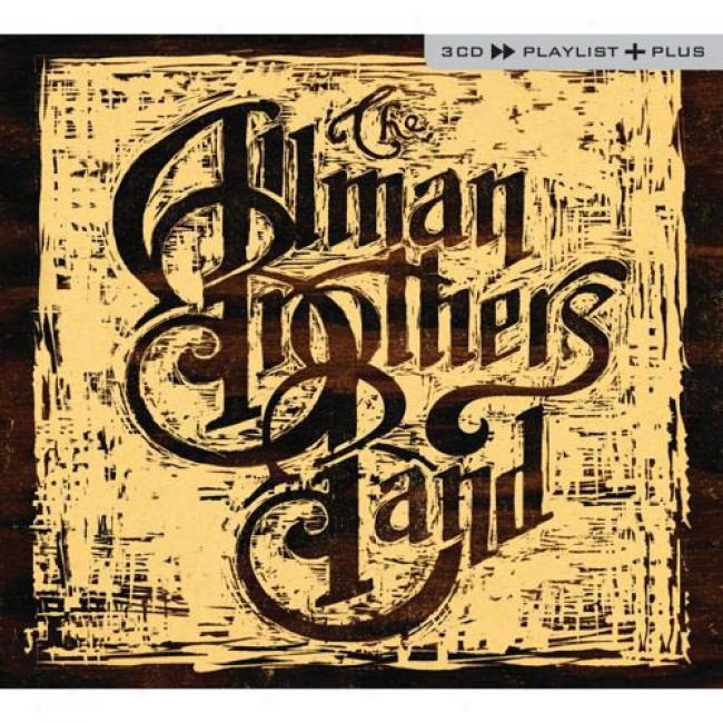 Playlist Plus: The Allman Brothers Band (3cd) (cd Slipcase)