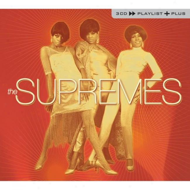 Playlist Plus: The Supremes (3cd) (cd Slipcaae)