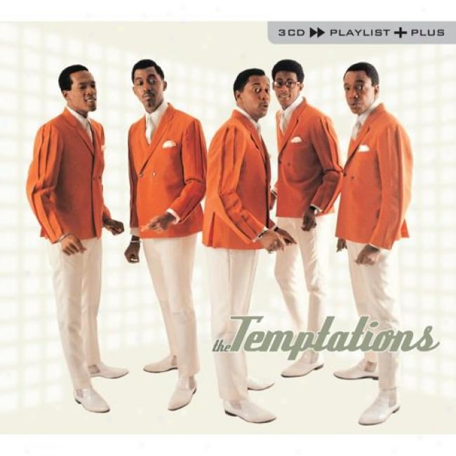 Playlist Plus: The Temptatkons (3cd) (cd Slipcase)