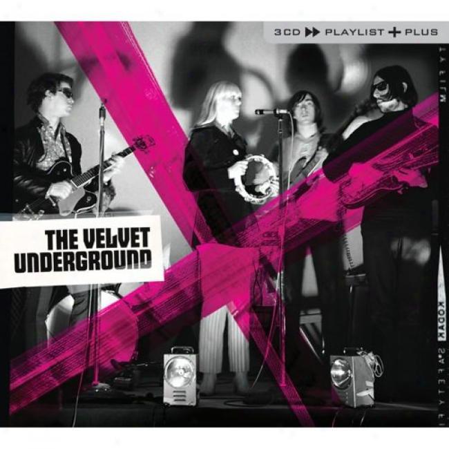 Playlist Plus: The Velvet Underground (3cd) (cd Slipcase)