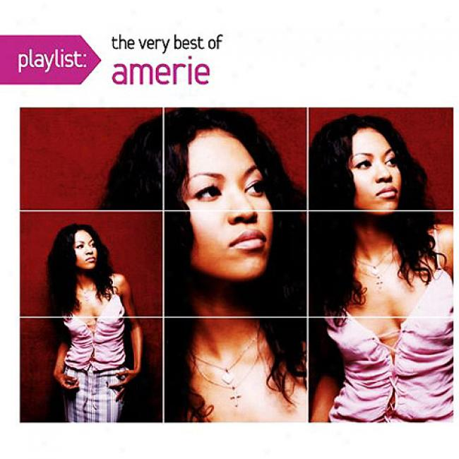 Playlist: The Very Best Of Amerie (eco-friendly Package) (remasrer)