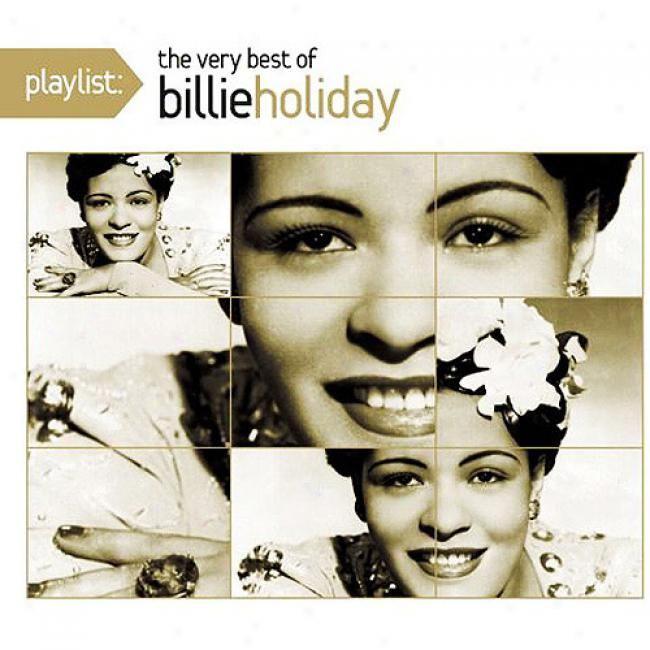 Playlist: The Very Best Of Billie Festival (eco-friendly Package) (remaster)