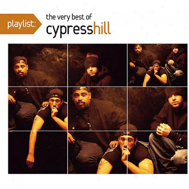Playlist: The Very Best Of Cypress Hill (edited) (enhanced Cd) (eco-friendly Package) (remaster)