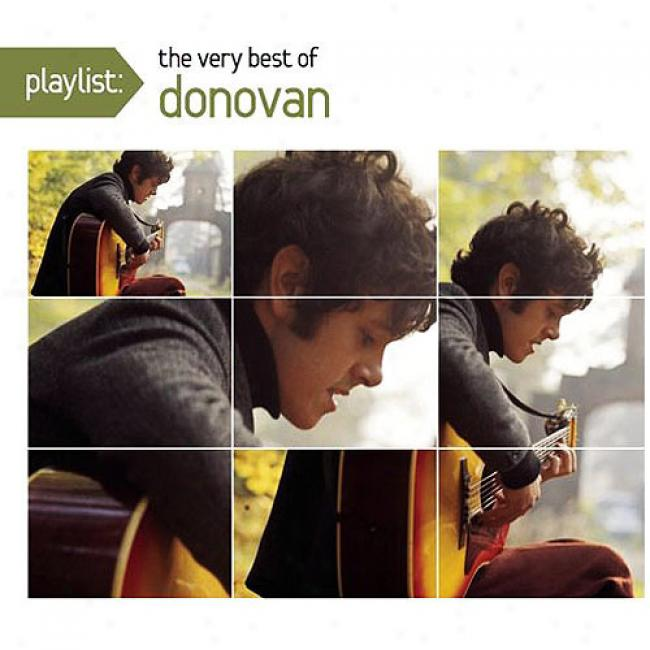 Playlist: The Very Best Of Donovan (enhanced Cd) (eco-friendly Package) (remaster)