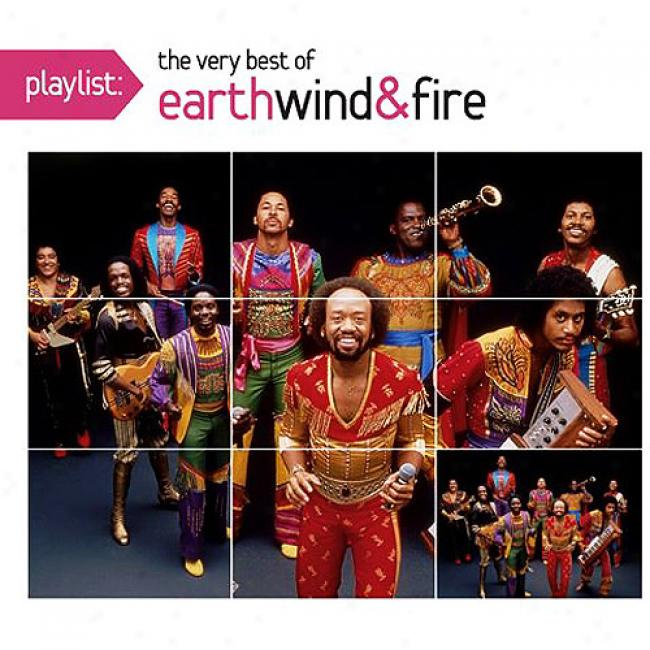 Playlist: Thhe Very Best Of Earth, Wind & Fire (eco-friendly Package) (remaster)