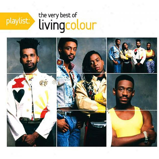 Playlist: The Very Best Of Living Colour (eco-friendly Package) (remaster)