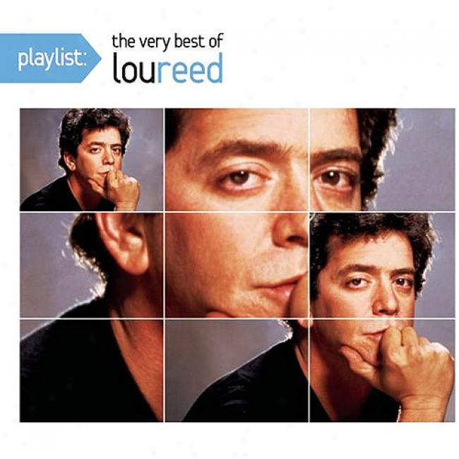 Playlist: The Very Best Of Lou Reed (eco-friendly Package) (remaster)