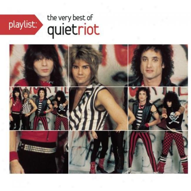 Playlist: The Very Best Of Quiet Riot (eco-friendly Package) (remaster)