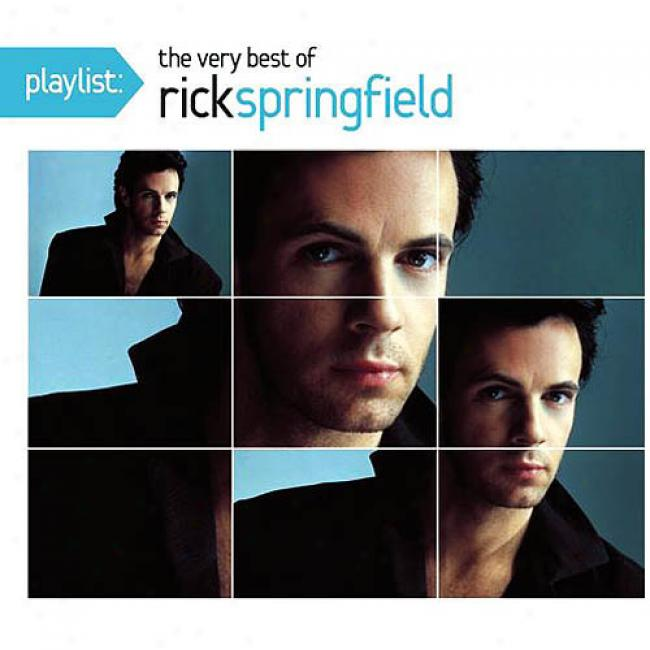 Playlist: The Same Best Of Rick Springfield (enhanced Cd) (eco-friendly Package) (remaster)