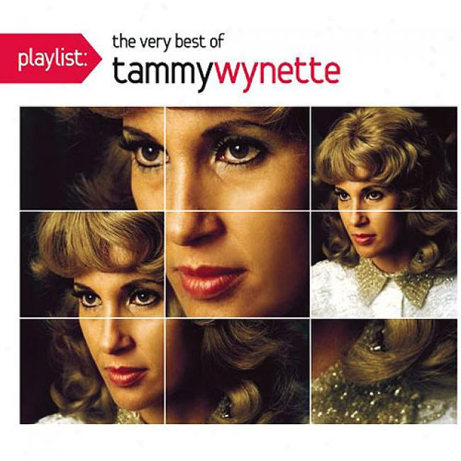 Playlist: The Very Best Of Tammy Wynette (enhanced Cd) (eco-friendly Package) (remaster)