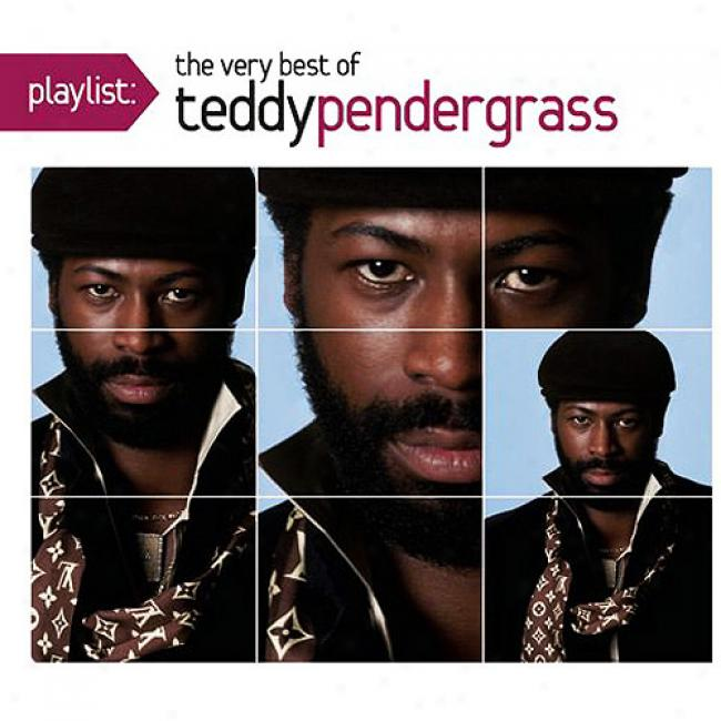 Playlist: The Very Best Of Teddy Pendergrass (eco-friendly Package) (remaster)