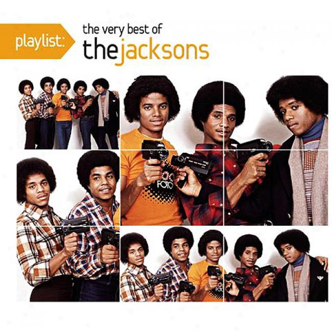 Playlist: The Very Best Of The Jacksons (eco-friendly Package) (remaster)