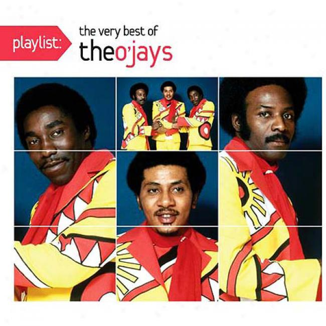 Playlist: The Very Best Of The O'jays (eco-frienddly Package) (remaster)
