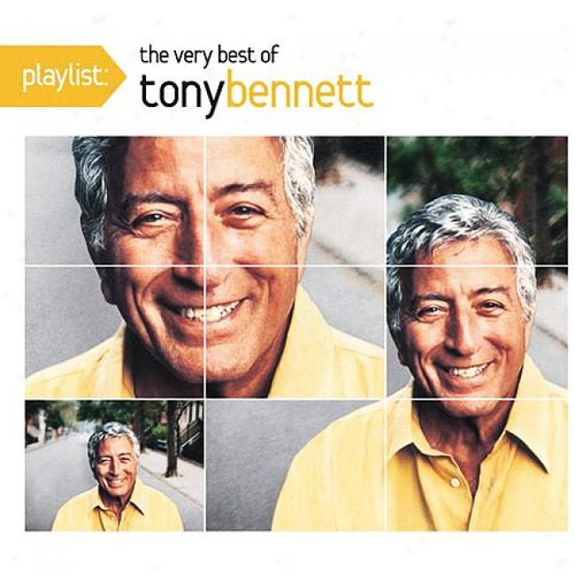 Playlist: The Very Best Of Tony Bennett (eco-friendly Package) (remaster)