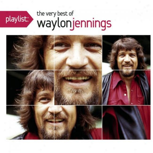 Playlist: The Very Best Of Waylon Jennings (eco-friendly Package) (remaster)
