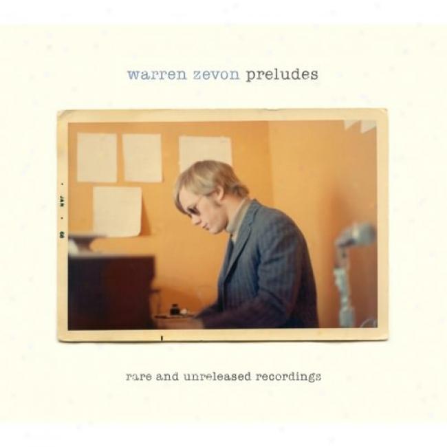 Preludes: Rare And Unrelessed Recordings (2cd) (cd Slipcase)
