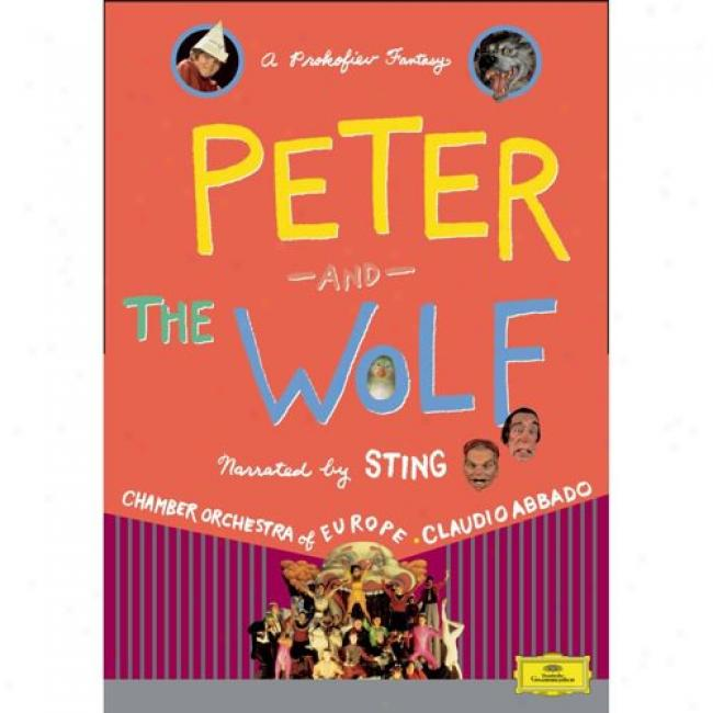 Prokofiev: Peter And The Wolf (Melody Dvd) (amaray Declension-form)