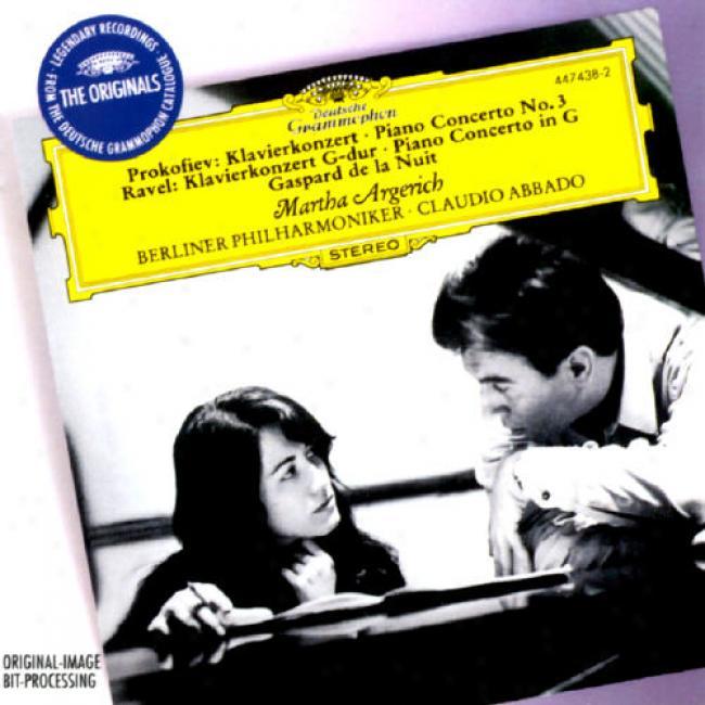 Prokofiev: Piano Concerto No.3/ravel: Piano Concerto In G