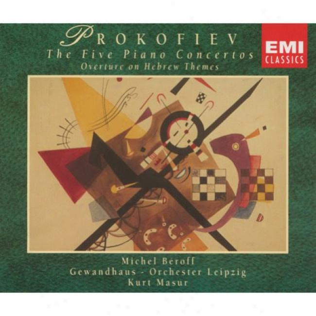 Prokofiev: The Five Piano Concertos (2cd) (remaster)