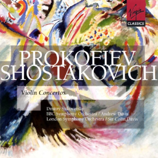 Prokofiev/shostakovich: Violin Concertos (2cd)