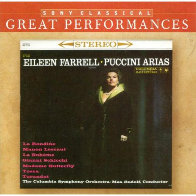 Puccini: Arias And Others In The Great Tradition