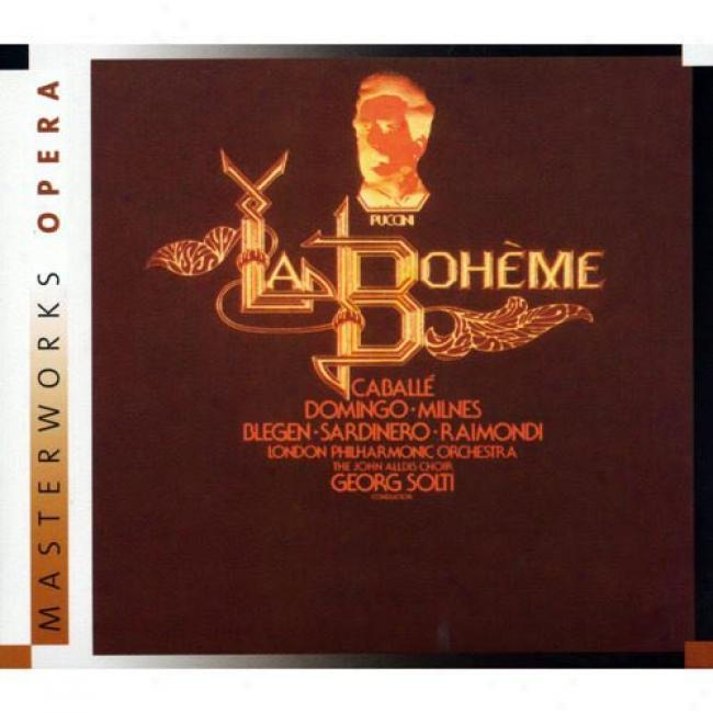 Puccini: La Boheme (2cd) (digi-pak) (remaster)