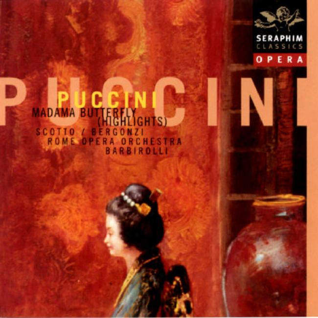 Puccini: Madame Butterlfly (highlights) (remaster)