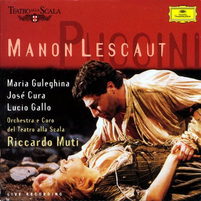 Puccini: Manon Lescaut/ Muti, Cura, Gulehgina, Gallo Et Al