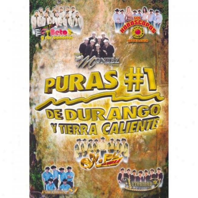 Puras #1 De Duatngo Y Tierra Caliente (music Dvd) (amaray Case)