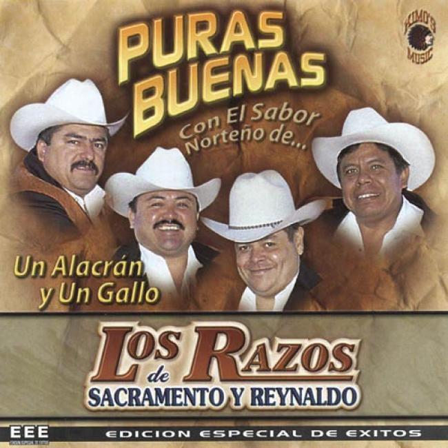 Puras Buenas: Con El Sabor Norteno De Los Razos (special Edition)