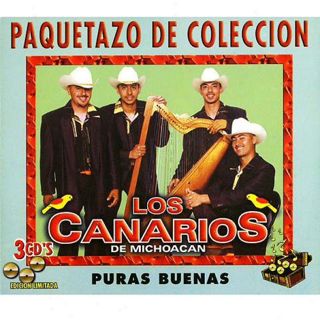 Puras Buenas (limited Edition) (3 Disc Box Set) (remaster)