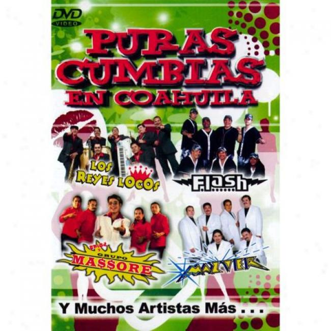 Puras Cumbias En Coahuila (music Dvd) (amaray Case)