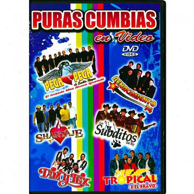 Puras Cumbias En Video (music Dvd) (amaray Case)