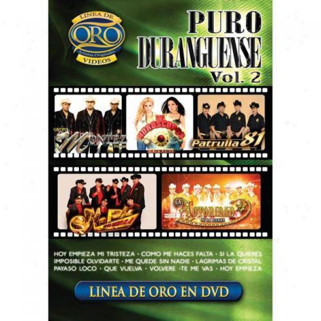 Puro Duranguense, Vol.2 (music Dvd) (amaray Case)