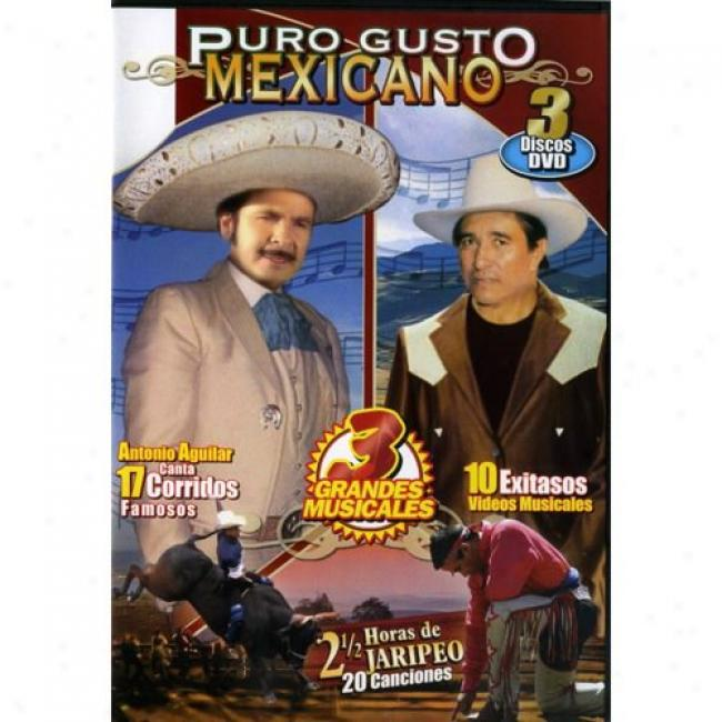 Puro Guusto Mexicano (3 Discs Music Dvd) (amaray Case)
